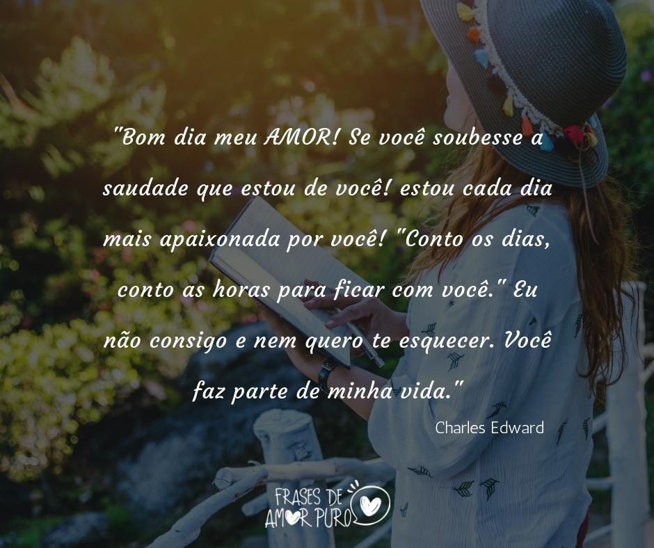 Bom Dia Meu Amor Frases De Amor Puro